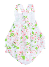 Load image into Gallery viewer, Angel Dear Sunsuit with Ruffle Back - Cherry Blossom