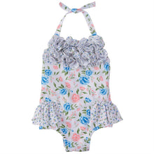 Load image into Gallery viewer, Mud Pie Floral Swimsuit