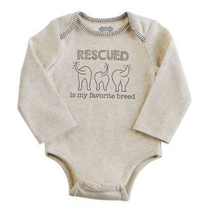 Mud Pie Pet Onesie - Rescued