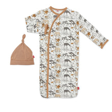 Load image into Gallery viewer, Magnetic Me Modal Magnetic Sack Gown & Hat - Great Migration