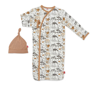 Magnetic Me Modal Magnetic Sack Gown & Hat - Great Migration