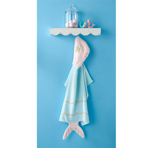 Mud Pie Baby Hooded Towel - Mermaid