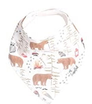Copper Pearl Single Bandana Bibs - Lumberjack