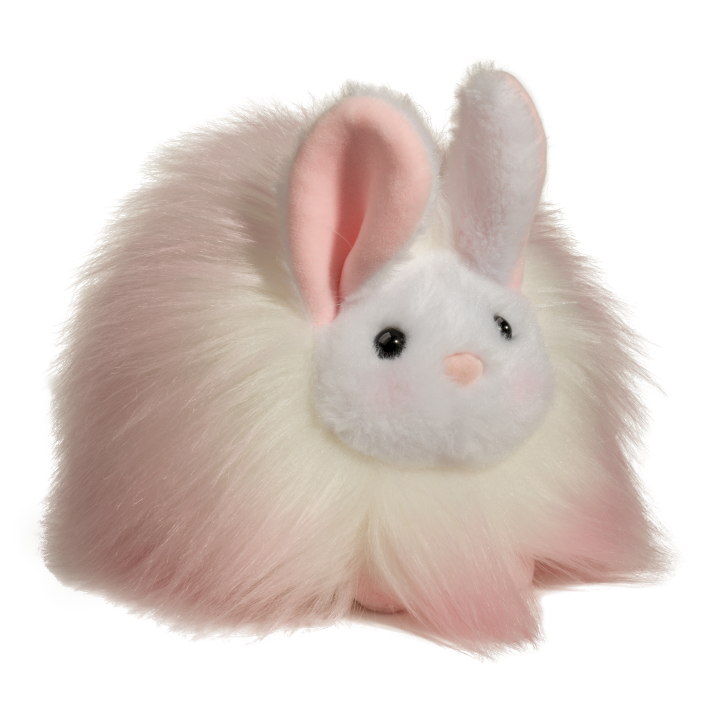 Pink Puff Bunny - Douglas Toys