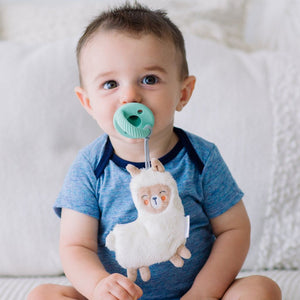 Itzy Ritzy Sweetie Pals Pacifier with Animal Attached - Lane the Llama