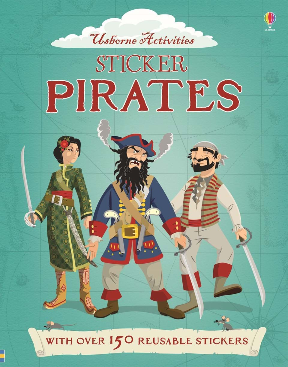 Usborne Sticker Book - Pirates