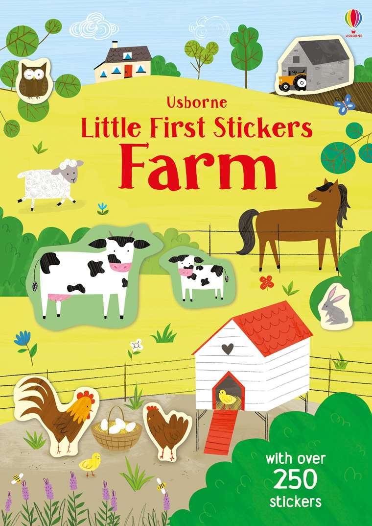 Little First Stickers: Farm - Usborne