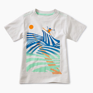 Tea Collection Cutback Graphic Tee
