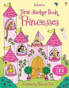 First Sticker Books: Princesses - Usborne