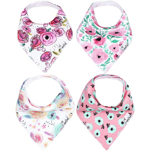 Copper Pearl Single Bandana Bibs - Bloom