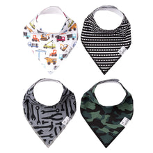 Load image into Gallery viewer, Copper Pearl Single Bandana Bibs - Diesel