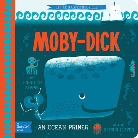 BabyLit Moby-Dick Board Book