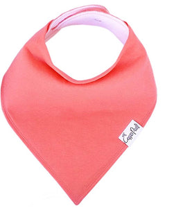 Copper Pearl Single Bandana Bibs - Jewel