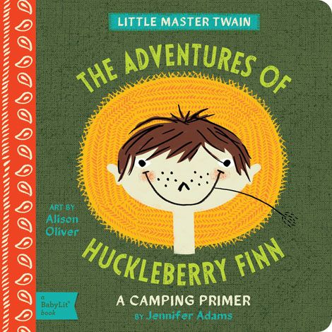 BabyLit The Adventures of Huckleberry Finn Board Book