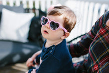 "Load image into Gallery viewer, Babiators Sunglasses - ""I Pink I Love You"" Heartbreaker"