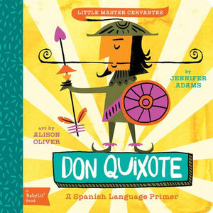 BabyLit Don Quixote Board Book