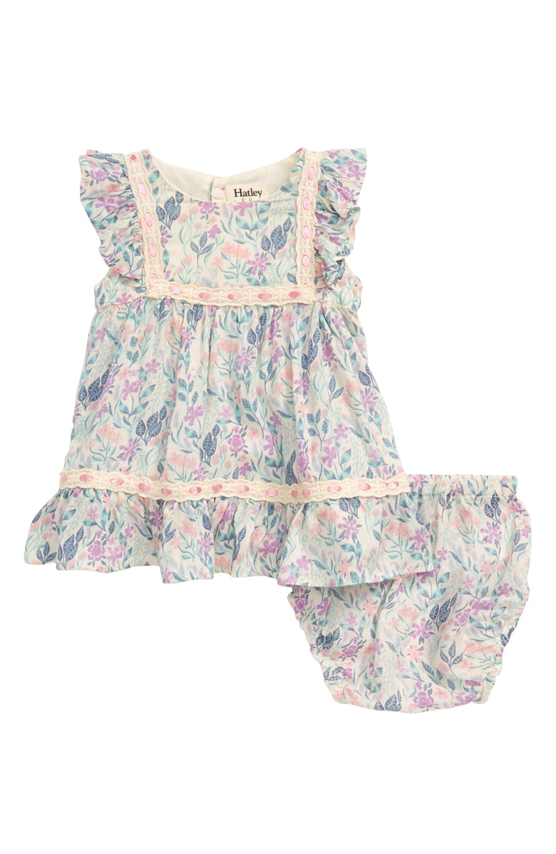 Hatley Floral Baby Party Dress