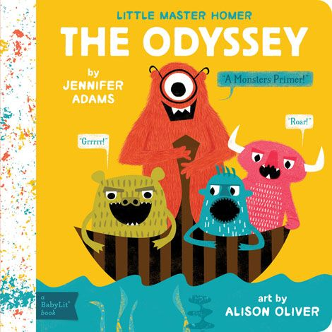 BabyLit The Odyssey Board Book
