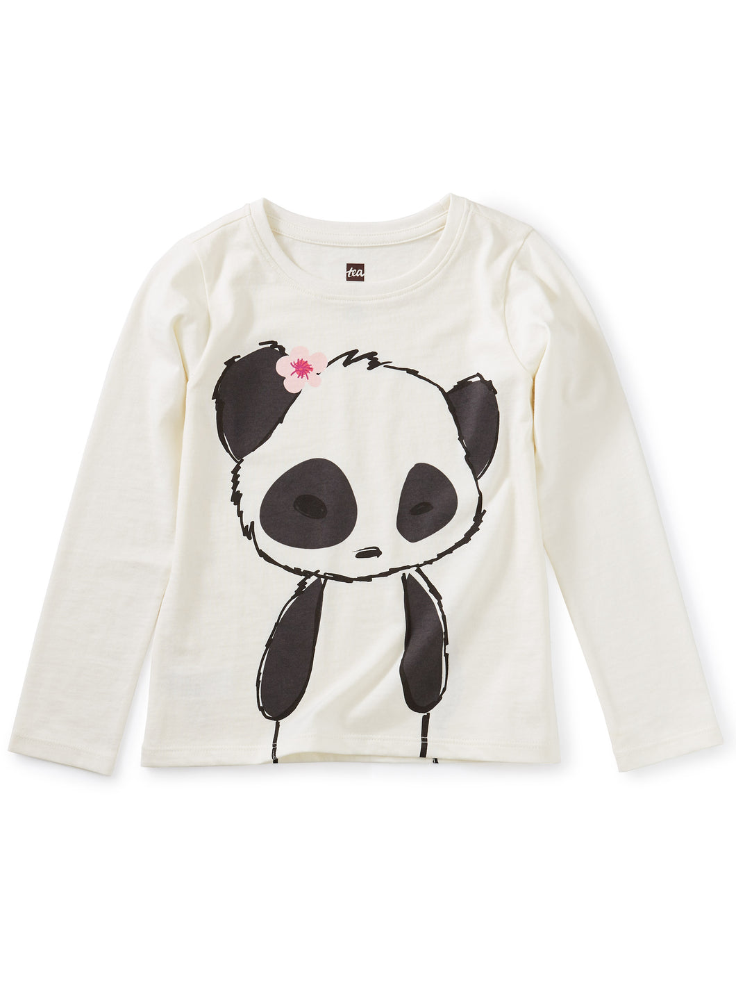 Tea Collection Panda Graphic Tee