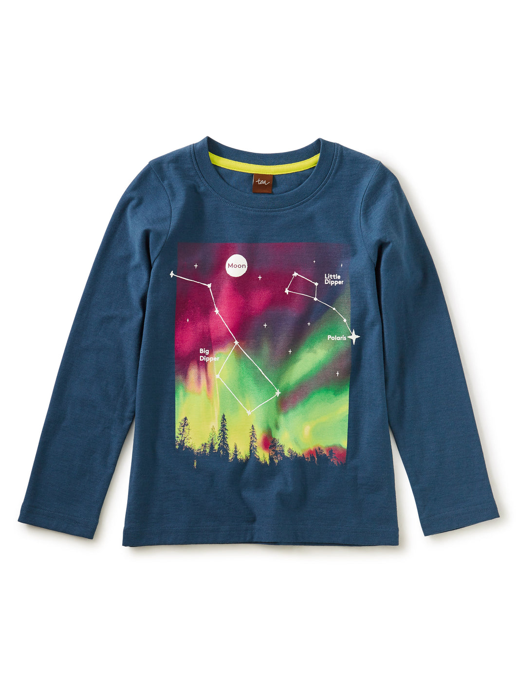 Tea Collection Constellation Glow Graphic Tee