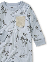 Load image into Gallery viewer, Tea Collection Printed Pocket Romper - Peruvian Pals