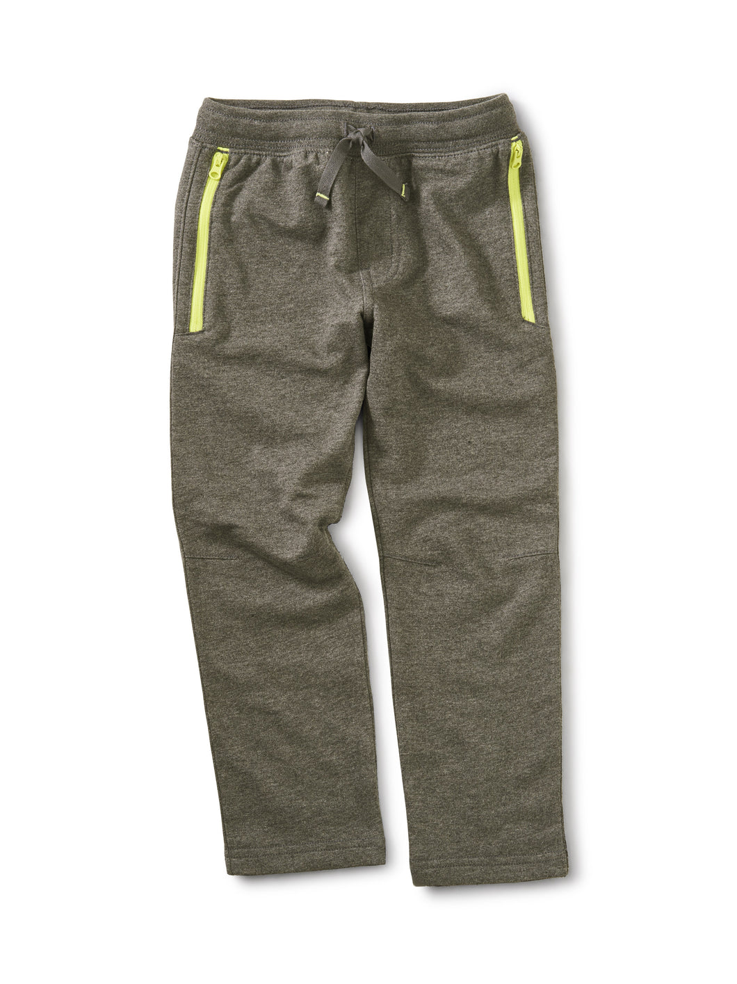 Tea Collection Zip Pocket Joggers - Charcoal Grey Heather