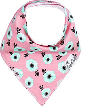 Load image into Gallery viewer, Copper Pearl Single Bandana Bibs - Bloom