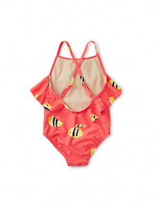 Tea Collection Flutter One-Piece - Angelfish