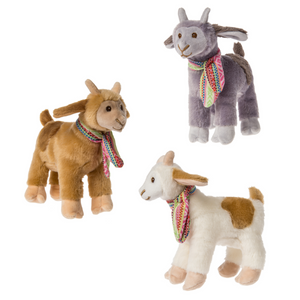 "Gabby Goats - 6"" Stuffed Toy (3 color options)"