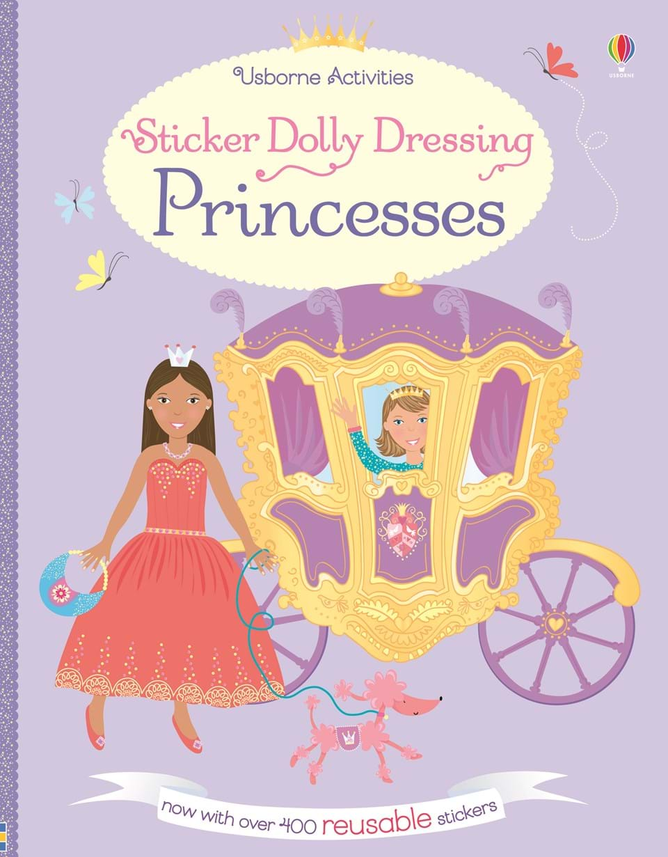 Usborne Sticker Dolly Dressing - Princesses