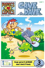 Load image into Gallery viewer, Phonics Comics: Cave Dave - Level 1