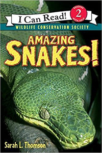 Amazing Snakes - Level 2 - I Can Read Books