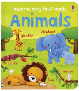 Baby's Very First Words Animals Book - Usborne