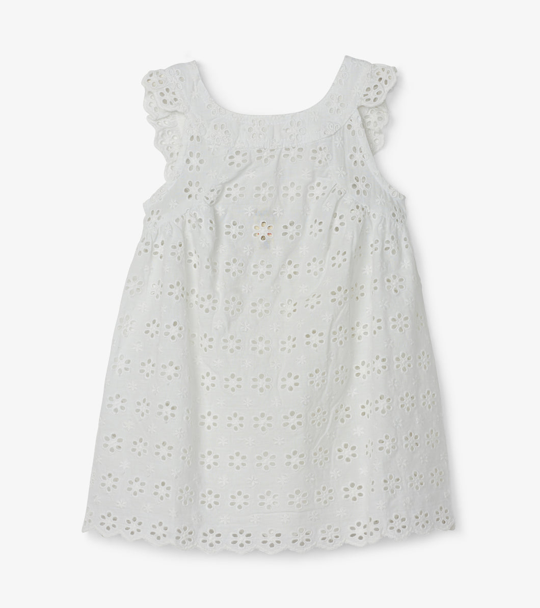 Hatley Spring Blossoms Baby Eyelet Dress