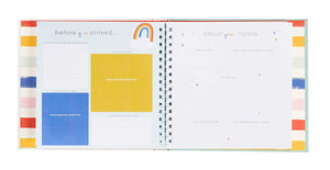 C.R. Gibson Make Your Mark Memory Book - Rainbow
