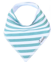 Load image into Gallery viewer, Copper Pearl Single Bandana Bibs - Oxford