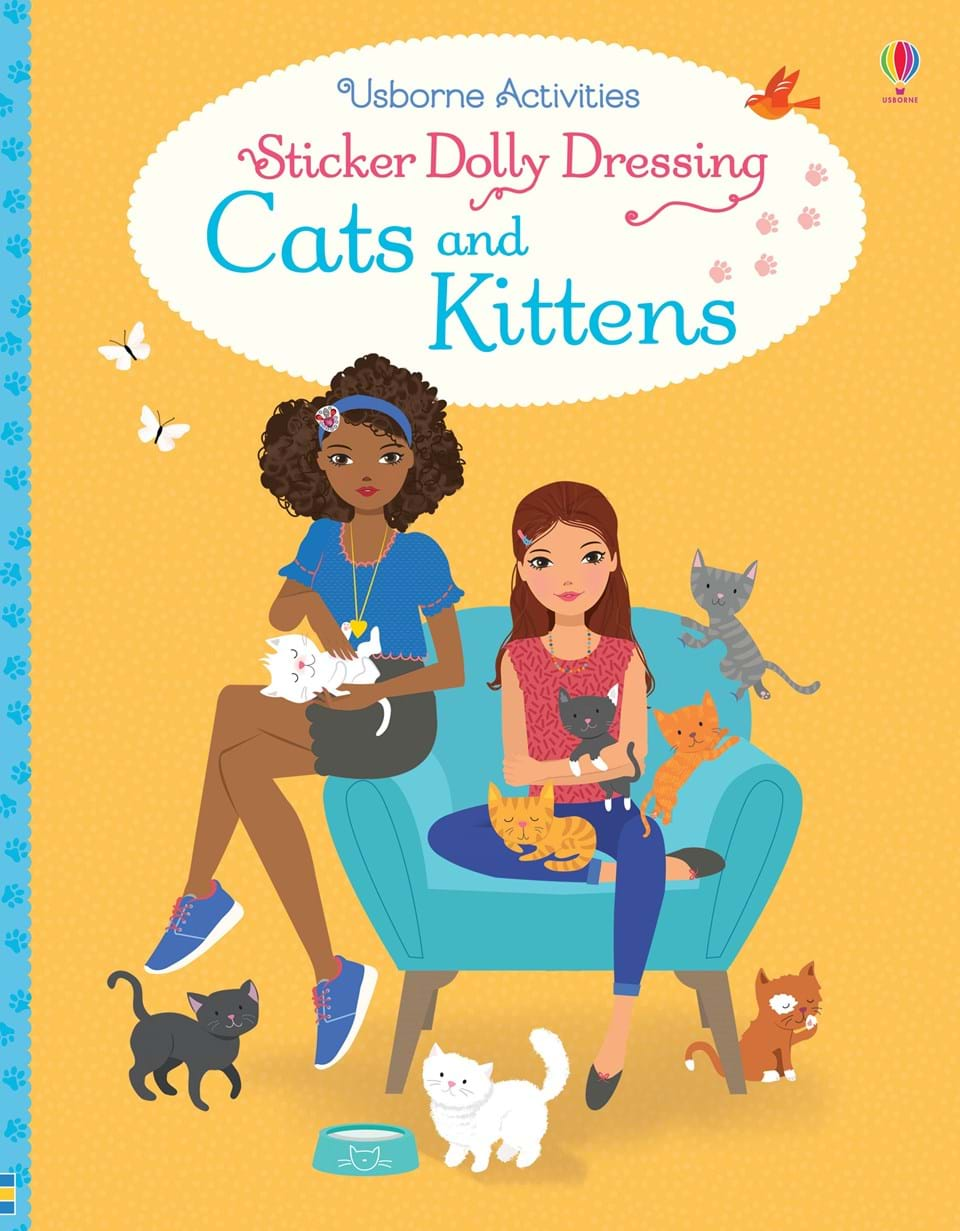Usborne Sticker Dolly Dressing - Cats and Kittens