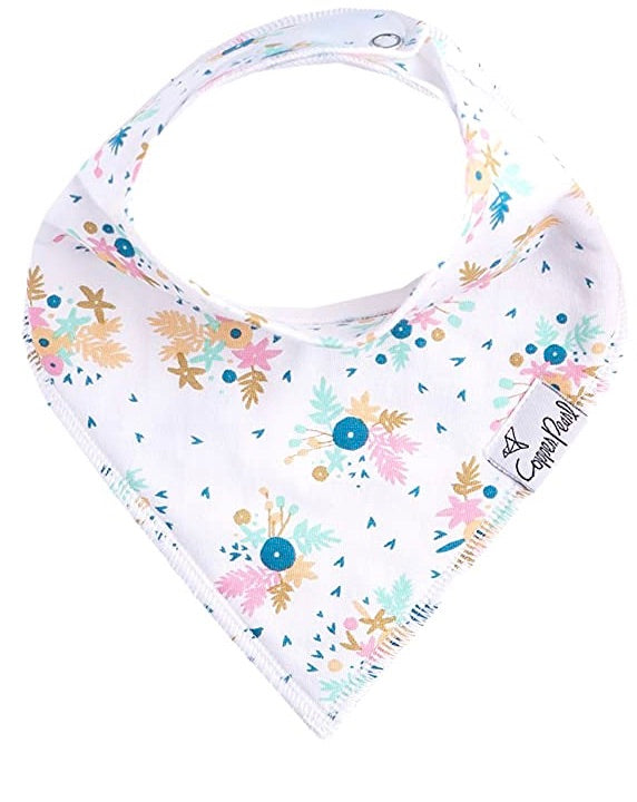 Copper Pearl Single Bandana Bibs - Whimsy
