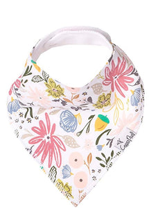 Copper Pearl Single Bandana Bibs - Olive