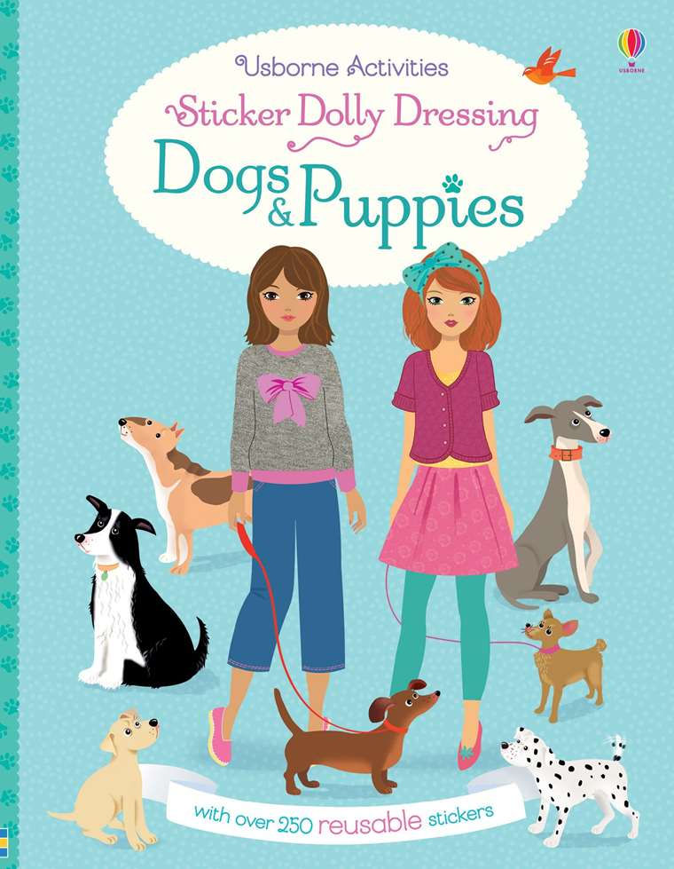 Usborne Sticker Dolly Dressing - Dogs and Puppies