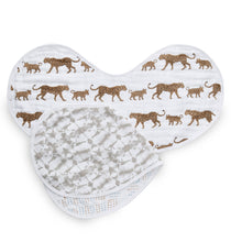 Load image into Gallery viewer, Aden and Anais Classic Muslin Burpy Bib 2-pack - Hear Me Roar