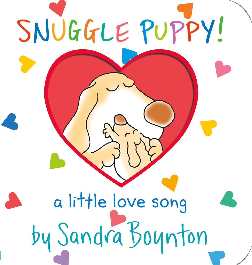 Snuggle Puppy! Board Book by Sandra Boynton