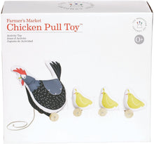 Load image into Gallery viewer, Manhattan Toy Farmer's Market Chicken Pull Toy