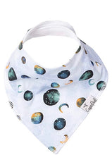 Load image into Gallery viewer, Copper Pearl Single Bandana Bibs - Lunar