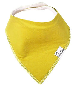 Copper Pearl Single Bandana Bibs - Stone