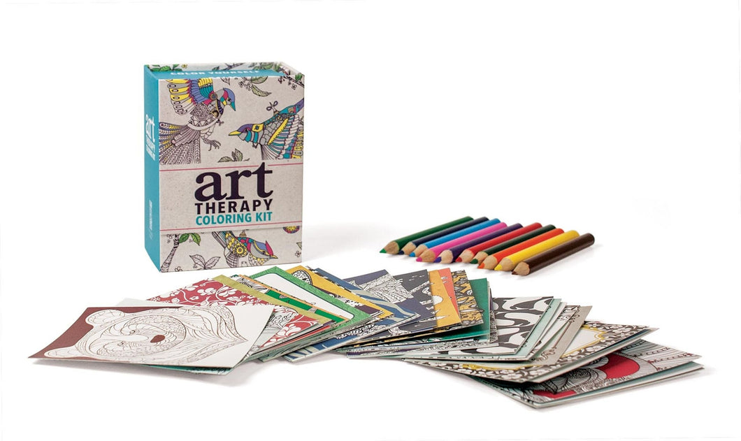 Art Therapy Miniature Coloring Kit