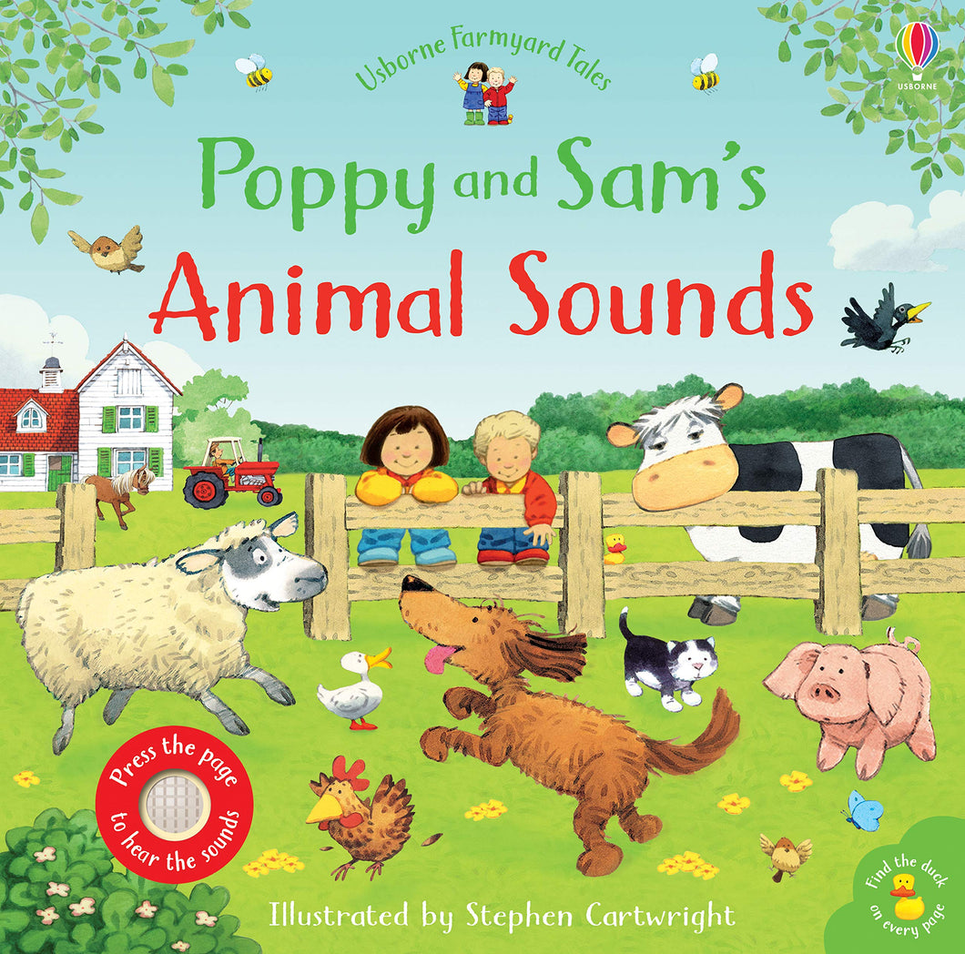 Usborne Sound Books - Poppy and Sam's Animal Sounds