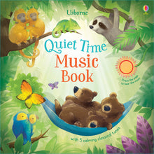 Load image into Gallery viewer, Usborne Sound Books - Quiet Time Music Book