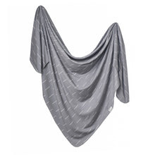 Load image into Gallery viewer, Copper Pearl Knit Swaddle Blanket - Dash