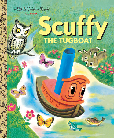 Scuffy the Tugboat - Little Golden Books
